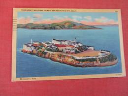 Prison The Rock  Alcatraz Island San Francisco Bay Calif    Ref 3052 - Prison