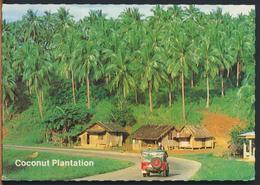 °°° 11552 - PHILIPPINES - QUEZON - COCONUT PLANTATION - 1992 °°° - Filippine