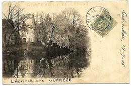 A2 CORREZE 19 LAGRAULIERE Chateau De Bellefont 1906 - France