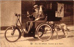 1 Carte  C1920  Brussel Attelage De Chiens Hond Chien Dog - Invalide Nels éd Thyl Emile De Gryse, Souvenir De La Gueurre - Chiens
