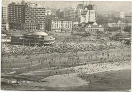 X3963 Durban - The Beach - Strand Plage Playa Spiaggia / Viaggiata 1958 - Sud Africa