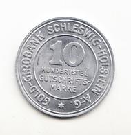 10 MARKE SCHLESWIG-HOLSTEIN 1923 GERMANY - Monetary/Of Necessity