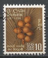 Ceylon (Sri Lanka) 1958. Scott #349 (U) King Coconuts * - Sri Lanka (Ceylan) (1948-...)