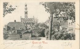 Veere 1906; Groete Uit Veere - Gelopen. (Alemeene Postvereeniging) - Veere