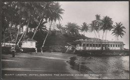Mount Lavinia Hotel, Showing The Bathing Pavilion, Ceylon, C.1930s - Plâté RP Postcard - Sri Lanka (Ceylon)