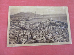 Italy > Campania > Napoli (Naples) Panorama   Tear  Right Border Has Stamp & Cancel     Ref 3052 - Napoli (Naples)