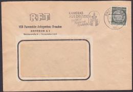 Kameras Aus Dresden, Praktica, Praktina Pratisix MWSt. 1959 REFT Fernmeldeanlagenbau, Motiv  Kronentor Zwinger - Astrologie