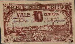 CÉDULA VALE DE 10 CENTAVOS -CÂMARA MUNICIPAL DE PORTIMÃO - Portugal