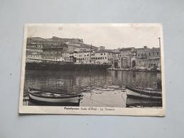 CARTOLINA PORTOFERRAIO (ISOLA D'ELBA) - LA DARSENA - Livorno
