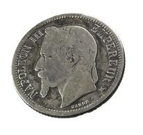 1 Franc  - Napoléon III   - France - 1867 K - Argent  - TB - - France