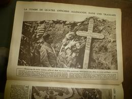 1915 LE MIROIR : Hier Ruben Im Gott 4 Tapfere Helden : Habael Albredik Landw,Thonnis Riller Landw,Alns Doubennmerkl,etc - Riviste & Giornali