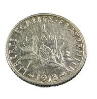 1 Franc  - Roty   - France - 1913 - Argent  - TB+ - - H. 1 Franc