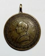 VATICANO - LEONE XIII - Medaglia Giubileo Sacerdotale (1887 - 1888) Bronzo - 32mm - Gettoni E Medaglie