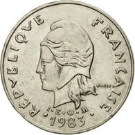 Monnaie, French Polynesia, 20 Francs, 1983, Paris, TTB+, Nickel, KM:9 - French Polynesia