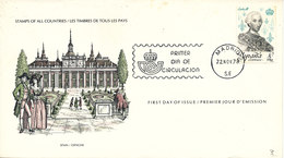 Spain FDC 22-11-1978 Carlos III With Cachet - FDC