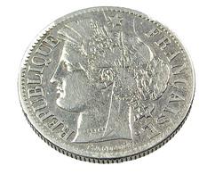 2 Francs  - Cérès - France - 1887 -  Argent   - TB+ - - France