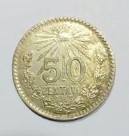 Messico / Mexico - 50 Centavos (1943) Silver / Ag - Messico