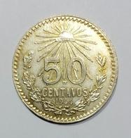 Messico / Mexico - 50 Centavos (1944) Silver / Ag - Messico