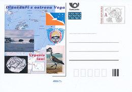 Rep. Ceca / Cart. Postali (Pre2011/59) Dinosauri Dell'isola Vega (4) Vegavis Iaai - Isole