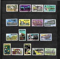 Nigeria 1973 Pictorial Set Complete Used SG 290 - 306 (6827) - Nigeria (1961-...)