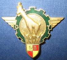 513° Groupe De Transport, Type 2, émail, Dos Guilloché(AC) - Armée De Terre