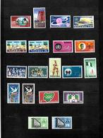 Nigeria 1967 & 1968 Complete All Sets LMM SG198- 216 (6829) - Nigeria (1961-...)