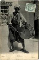 AFRIQUE ALGERIE SCENES ET TYPES Un Musicien ND Superbe Carte - Professions