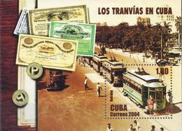 Cuba MNH SS - Tramways