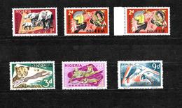 Nigeria 1969 Wildlife, Second Printing Selection MNH (6832) - Nigeria (1961-...)
