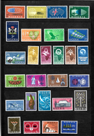 Nigeria 1961 & 1962 Complete, All Sets LMM SG102-128 (6844) - Nigeria (1961-...)