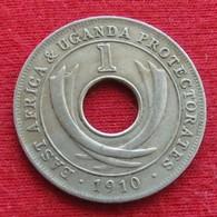 Uganda 1 Cent 1910 East Africa Protectorates Ouganda - Uganda