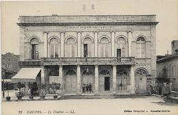 46, Lot, CAHORS, Le Théatre, Scan Recto-verso - Cahors