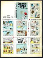 """Mini-récit N° 221 """" L'ECHARPE A BOBO """" De ROSY Et DELIèGE - Supplément à Spirou - Non Monté. - Spirou Magazine"""