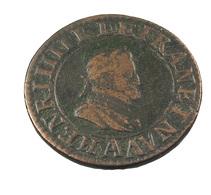 Double Tournois - Henri IIII -  France - Cuivre - 1603 A Paris - TB+ - - 987-1789 Royal