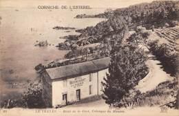 83-LE-TRAYAS- CORNICHE DE L'ESTEREL - HÔTEL DE LA GARE , CALANQUE DU MAUPAS - France