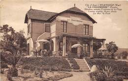 83-SAINT-AYGULF- LA CHAUMIERE PENSION - Saint-Aygulf