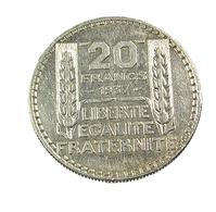 20 Francs - Turin - France - 1937 - Argent - TB+ - - L. 20 Franchi
