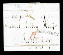 A5599) AD Bayern Brief V. München 1802 Mit Stempel R4.München - Deutschland