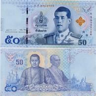 THAILAND       50 Baht       P-New      ND (2018)        UNC  [ Sign. 87 ] - Tailandia