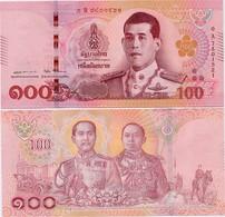 THAILAND       100 Baht       P-New      ND (2018)        UNC  [ Sign. 87 ] - Tailandia
