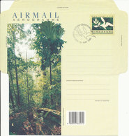 Singapore Aerogramme FDC 24-5-1995 Singapore Nature Conservation Bukit Timah Nature Reserve - Singapour (1959-...)