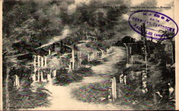 08 - BAZEILLES En Feu, Incendié Par Les Soldats Bavarois, 1er Septembre 1870 - Autres Communes
