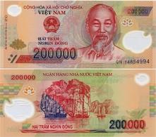 VIETNAM       200,000 Dong       P-123g       (20)14       UNC  [ 200000 ] - Vietnam