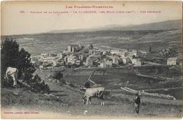 LA LLAGONNE (envs Mont Louis) Vue Générale, Plateau De La Quillanne - Vache - Rare - Other Municipalities