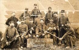 Guerre 14/18 - Carte-Photo Du 97 E - Souvenir De La Campagne 1914 - Photo Prise à Azieu Genas (Loire) - War 1914-18