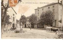 Cp 43 Retournac - Hotel Mourgue - Retournac