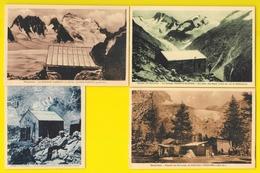 4 Refuges (Carron, Temple-Ecrins, Tuchett Et Cézanne) (Mollaret) Hautes Alpes (05) - Non Classificati