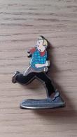 TINTIN En Amérique - Figurine Métal - Tintin