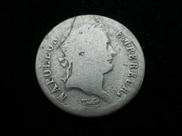 1/2 FRANC ARGENT  NAPOLEON EMPEREUR 1808 BB  ( Lot Plrg5/12 ) - G. 50 Centesimi