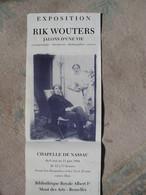 Exposition Rik Wouters Bibliothèque Royale Bruxelles 1994 - Affiches